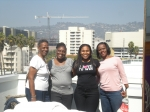 Dot,Safiya, Kim (Nilaja), and Gwen in LA in 2011.