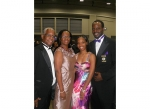 Jeff, Gwen, Jaimelle & Jeffrey at the Omega Centennial, July 2011